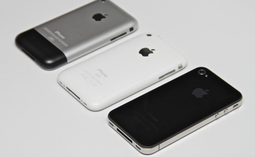 iPhone-Generationen (Bild: Yutaka Tsutano)