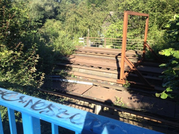 stillgelegte Gleisanlage