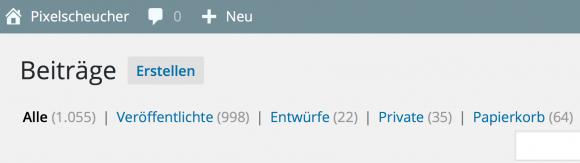 pixelscheucher-beitragsuebersicht-nach-status